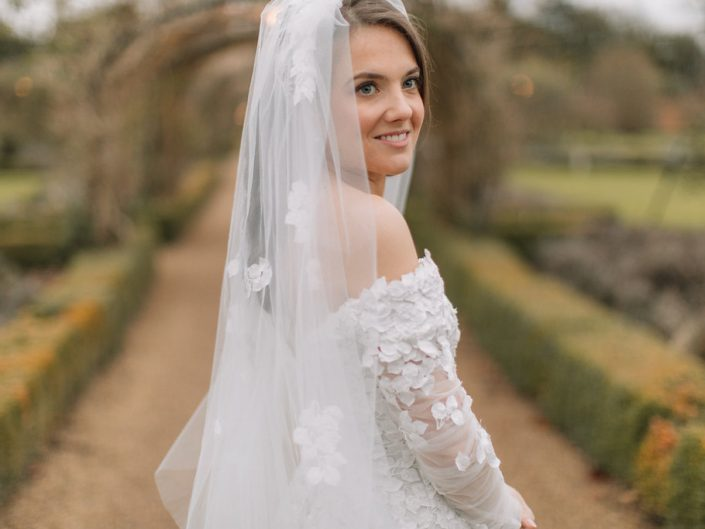Sophie and Nicholas Wedding at Stapleford Park. New Years Eve. Holly Clark Photography.